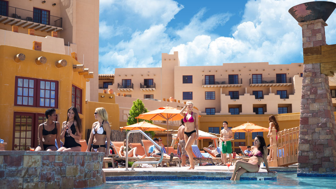 Hilton Santa Fe Buffalo Thunder Outdoor Pool